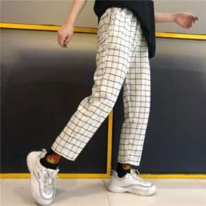 White with Black Stripes