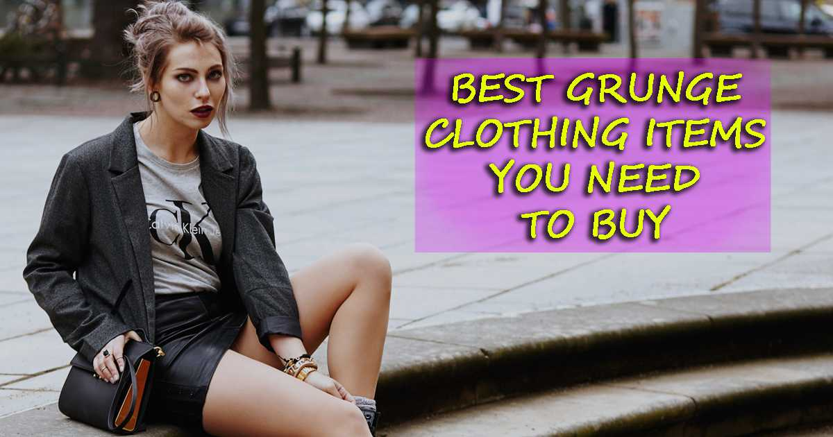 7 Best Grunge Clothing Store Items To Buy [Top 7 Reviewed]